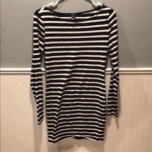Dresses & Skirts - Striped top/ cocktail dress